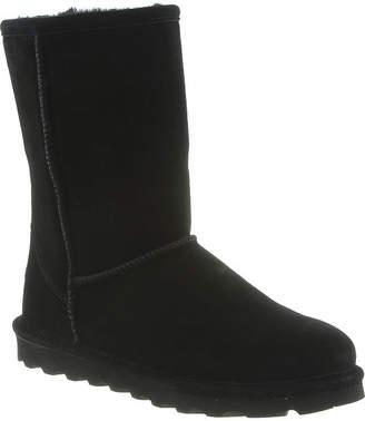 BearPaw Womens Elle Short Wide Water Resistant Winter Boots Flat Heel