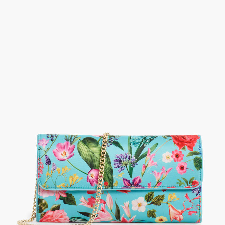 Talbots Floral Clutch