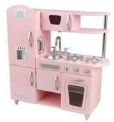 Kid Kraft Vintage Play Kitchen in Pink