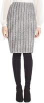 St. John Windsor Knit Pencil Skirt