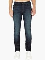 Frame Indigo Denim Skinny Lhomme Jeans