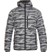 Peak Performance Helium down-filled hooded nylon jacket