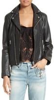 The Kooples Women's Lambskin Leather Jacket