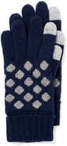 J.Mclaughlin Kathy Glove with Electronic Touch in Polka Dot