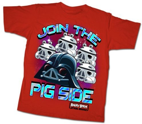 Fifth Sun Boys 8-20 Join Me Angry Birds Star Wars Youth