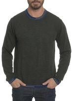 Robert Graham Cooperstown Wool Crewneck Sweater