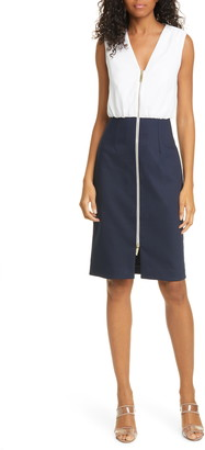 Ted Baker Annise Exposed Zip Sleeveless Dress