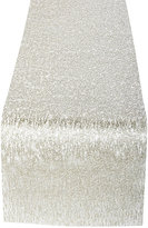 Chilewich Metallic Lace Table Runner-GOLD