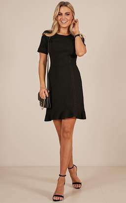 Showpo Happy and Free Dress in black - 20 (XXXXL) Dresses