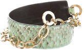 Gianni Versace Snakeskin Waist Belt