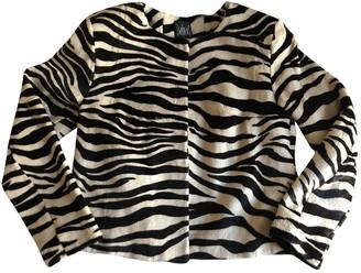 Swildens Ecru Rabbit Jacket for Women