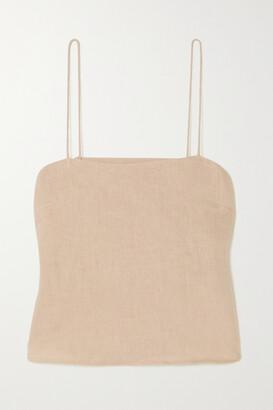 Anine Bing - Rose Linen Camisole - Neutrals