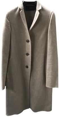 Calvin Klein Collection Beige Wool Coats