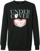 Undercover logo print sweatshirt