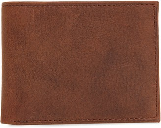 Johnston & Murphy Leather Slimfold Wallet