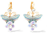 Dolce & Gabbana Gold-plated Swarovski Crystal Earrings - one size