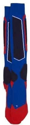 Falke Ess - Sk1 Knee-high Ski Socks - Mens - Blue Multi