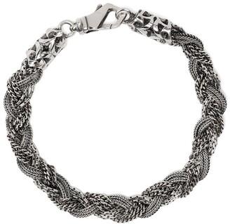 Emanuele Bicocchi Braided Multi-Chain Bracelet