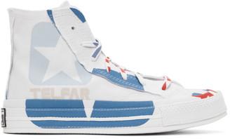 Telfar White Converse Edition Chuck 70 High Sneakers