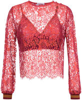 Nk long sleeves lace blouse