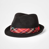 Cat & Jack Toddler Boys' Plaid Fedora - Cat & JackTM