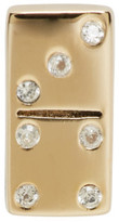 Marc Jacobs Gold Domino Something Special Earring