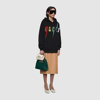 Gucci Oversize sweatshirt with Blade