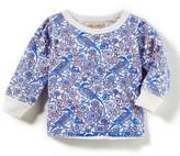 Infant Girl's Peek Peacock Print Shirt