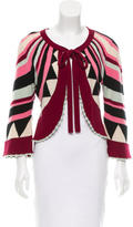 Temperley London Striped Cashmere Sweater