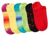 Hue Liner Socks - Pack of 6