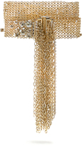 Lanvin Crystal-embellished wraparound bracelet