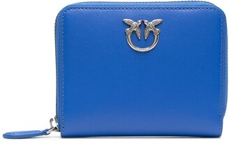 Pinko Logo Plaque Zipped Purse