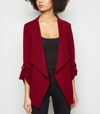 New Look Jersey Waterfall Blazer