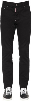 DSQUARED2 16.5CM COOL GUY STRETCH COTTON JEANS