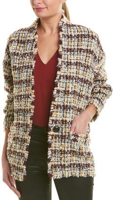 Isabel Marant Tweed Wool-Blend Jacket