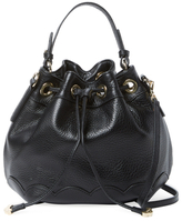 Jack Rogers Chelsea Small Leather Bucket Bag