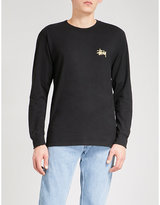 Stussy Wave Dragon cotton-jersey top