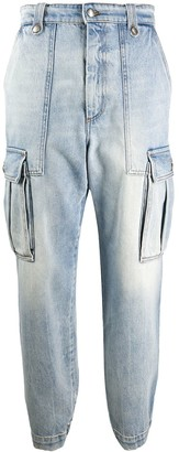 Zadig & Voltaire Fashion Show Pilote high-rise jeans