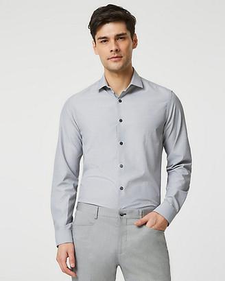 Le Château Geo Print Skinny Collar Slim Fit Shirt