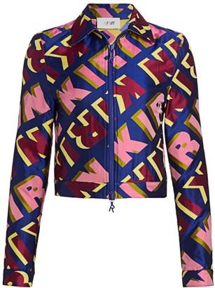 Kirin Typo Jacquard Jacket