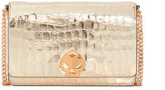 Kate Spade Romy Croc Embossed Chain Wallet Bag