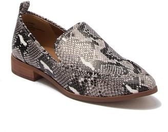 Susina Kellen Snake Printed Loafer