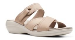 Clarks Collection Women's Alexis Art Flat Sandals Women's Shoes