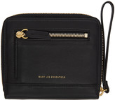 WANT Les Essentiels Black Portela Zip Wallet