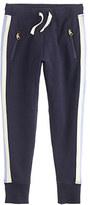 J.Crew Girls' skinny zip sweatpant in side stripe