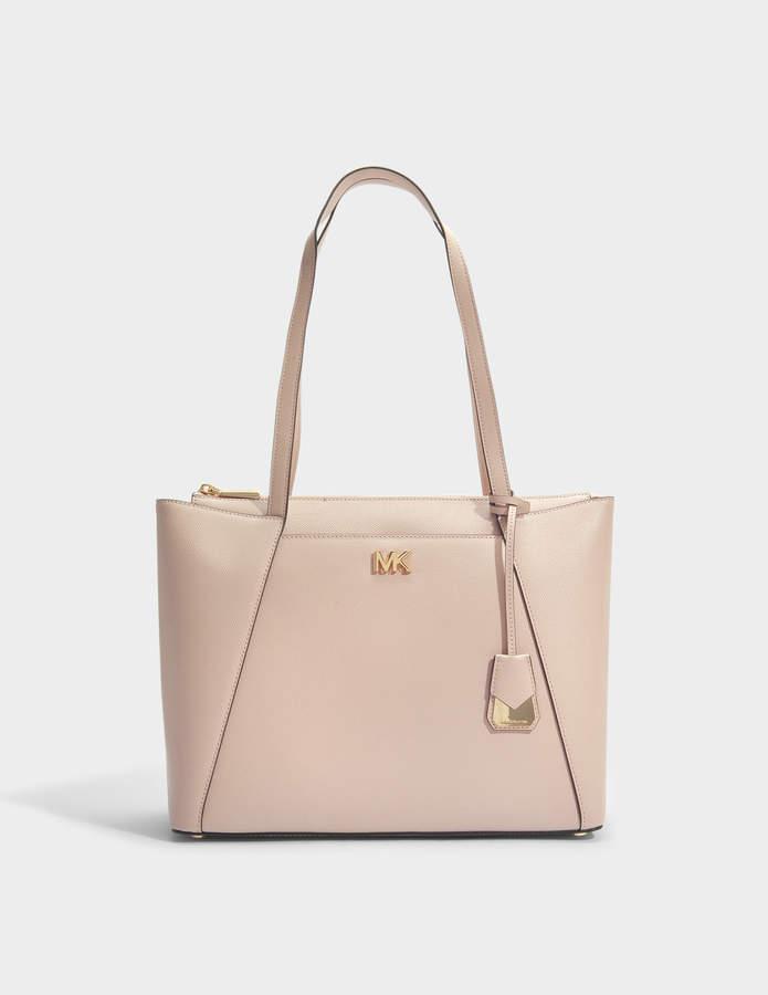 87769065218c Michael Michael Kors Medium Leather Tote Bag - ShopStyle