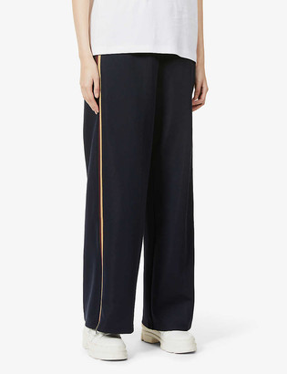 See by Chloe Relaxed-fit high-rise stretch-woven trousers