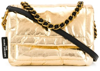 Marc Jacobs Pillow metallic shoulder bag