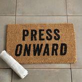 Press Onward Coir Doormat