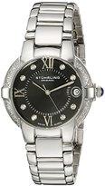 Stuhrling Original Women's 338L.12111 Symphony Regent Countess Elite Quartz Genuine Diamond Watch